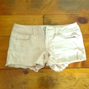 Pants - Pale pink shorts